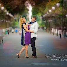 Свадебный фотограф Баходир Саидов (Saidov). Фотография от 28.09.2015