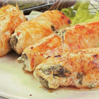Rolls Of Chicken Fillet