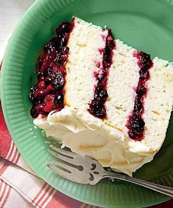 White Cake/cranberry Filling & Orange Buttercream Recipe