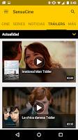 Screenshot of SensaCine - Movies and  Series