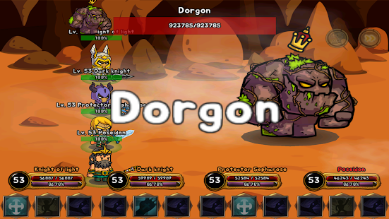 Dragon slayer vip - i.o Rpg game Screenshot