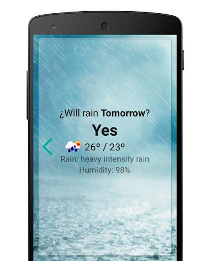 Weather - Will it rain