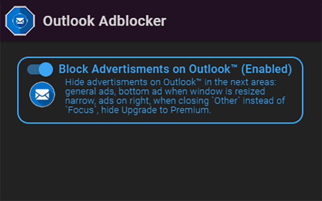 Outlook Adblocker