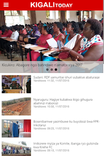 Kigali Today- screenshot thumbnail