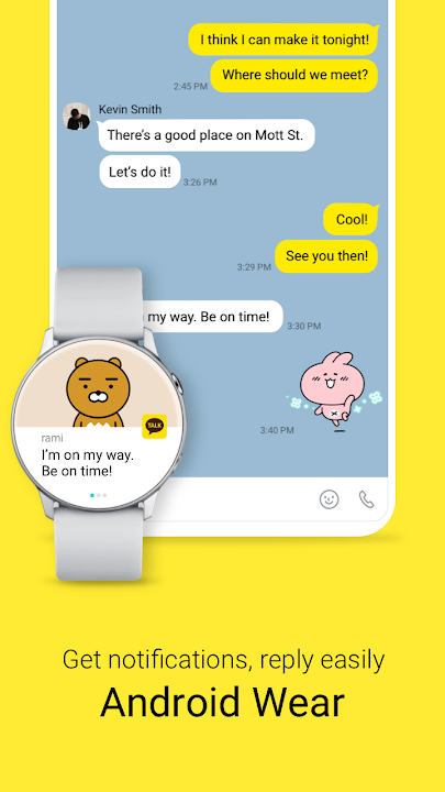 kakaotalk free calls  text download