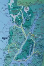 Photo: Map of itinerary