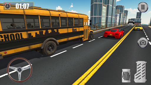 School Coach Bus Driver Game ss2