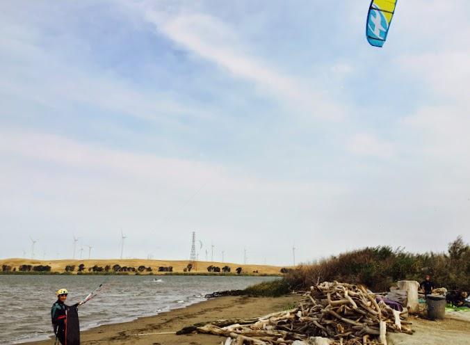 Kite Beach launch