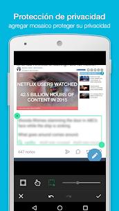 ScreenMaster aquí: pantallazo & nota, corte, edición 7