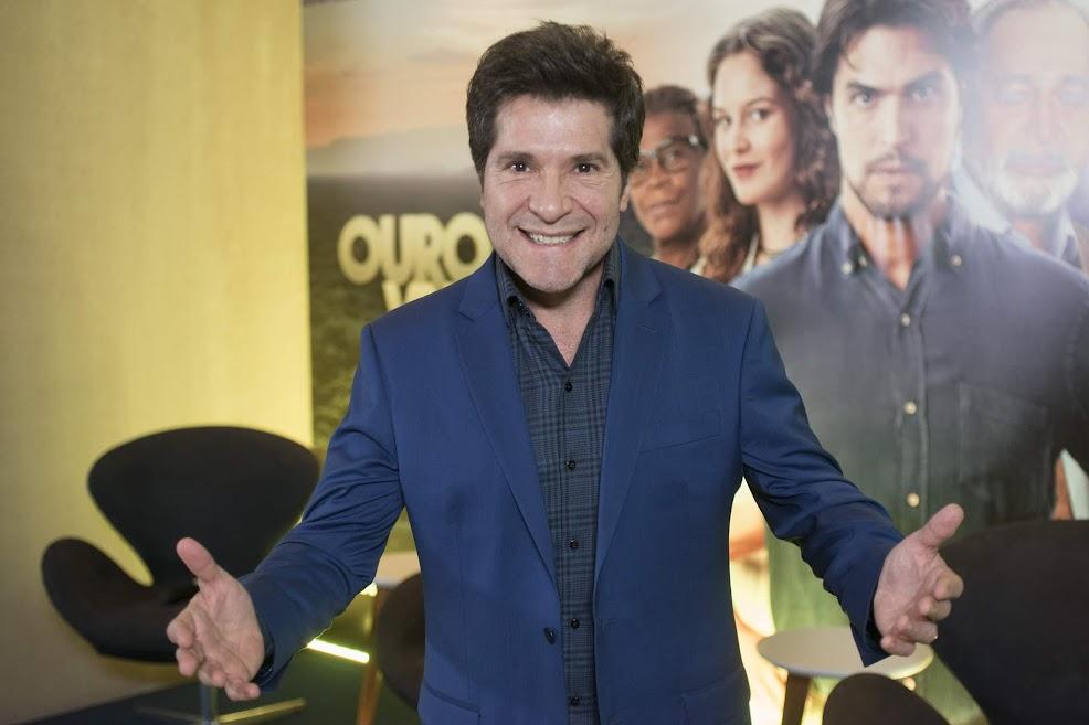 """Cantor Daniel interpretará a música """"Casava de Novo"""" que vai embalara o casal de protagonistas de Ouro Verde"""