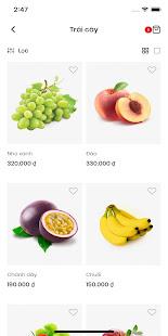 Organic Food - Mẫu app bán hàng Mona Media for PC-Windows 7,8,10 and Mac apk screenshot 3