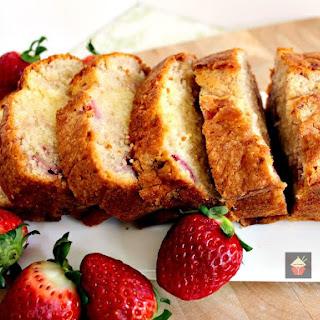 Strawberry Pound Cake.