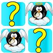 Pairs Memory Game: Penguins