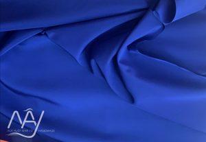 vải lụa tơ tằm bảo lộc màu xanh đậm 1