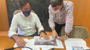 El alcalde y el concejal de Obras Públicas de El Ejido.