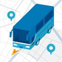 バスカーナビ by NAVITIME(ナビタイム)大型車,渋滞,規制,観光,貸切,駐車場,天気,地図 icon