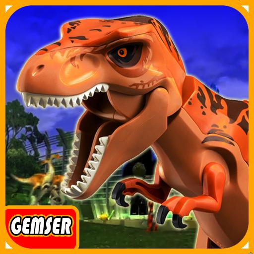Gemser LEGO Jurassic Dino