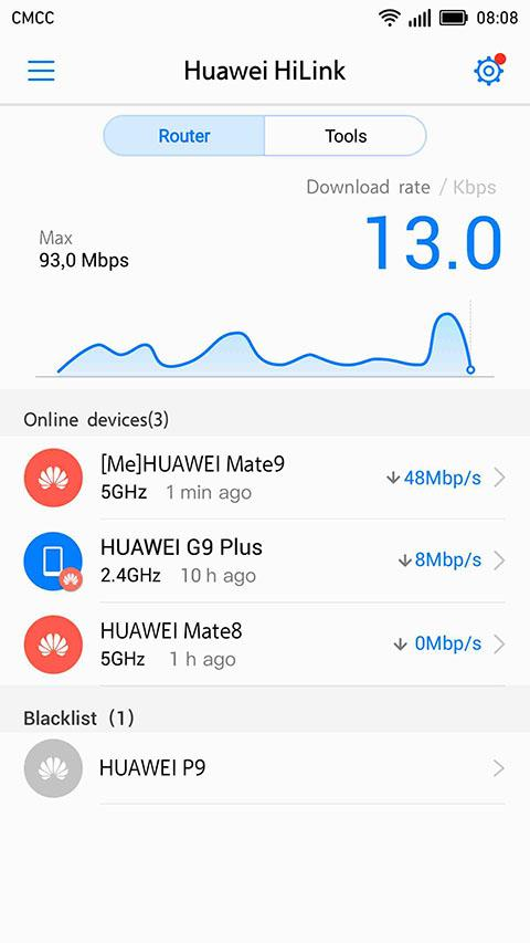 Huawei Suite of Applications on Android Phones