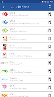 Netherlands Live TV Guide - náhled