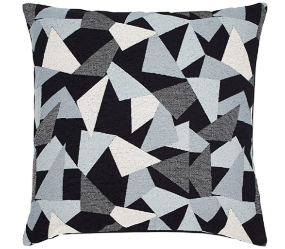 amazon brand geometric decorative throw pillow