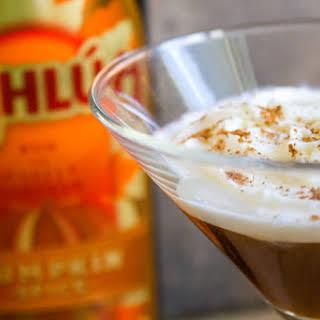 Kahlúa Pumpkin Spice Latte Cocktail.