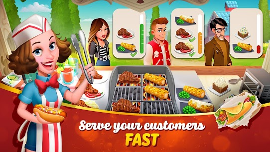 Tasty Town MOD APK 1.17.17 [Fast Cooking] 2