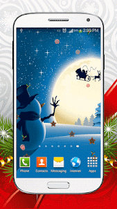 Christmas Live Wallpaper screenshot 1