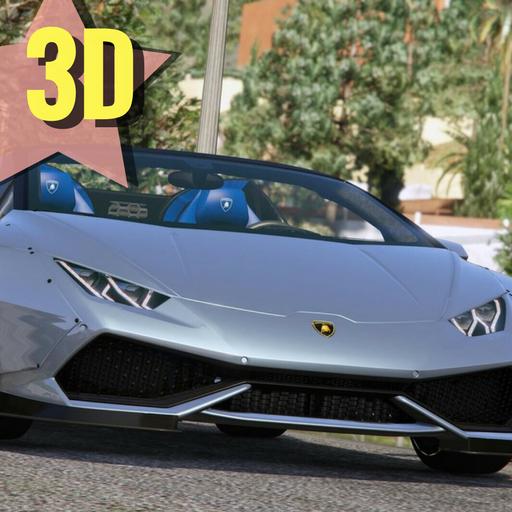 Racing Huracan Simulator 3D