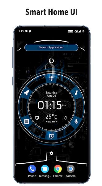 Alpha Hybrid Launcher Prime Screenshot Image