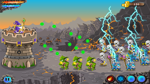 shooting defense:archery castle bowman defender screenshot 2