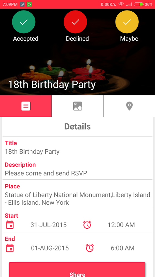 Birthday Invite Card With RSVP Android Apps on Google Play – Invite Card