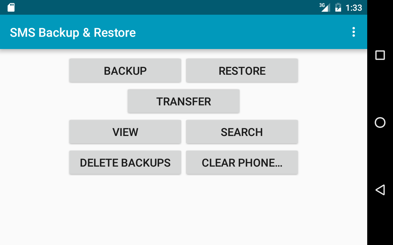 SMS Backup & Restore- screenshot