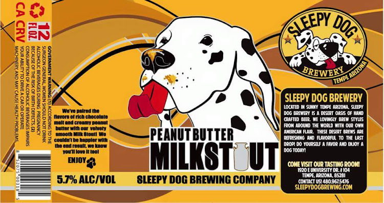 Logo of Sleepy Dog Peanut Butter Milk Stout