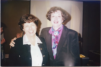Photo: Dianne McDowell and Carolyn Chapman (author)