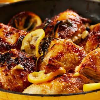 Roasted Lemon Chicken.
