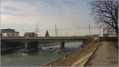 Photo: Turda - Str. Stefan cel Mare la intersectie cu Piata Romana - Podul Mare din Beton, vedere din Parcul Central   - 2019.02.25
