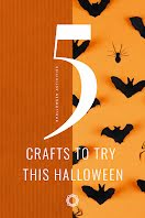 Crafty Halloween - Pinterest Pin item