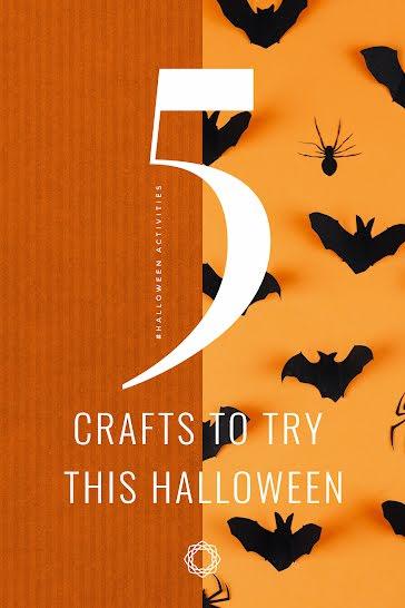 Crafty Halloween - Halloween Template