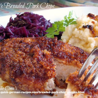 Oma'S Breaded Pork Chop Recipe