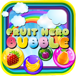 Bubble Shooter Game Fruit Hero Icon