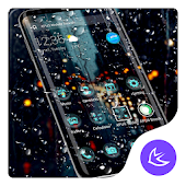 After Raining APUS Launcher Theme Android APK Download Free By Cool Theme Team