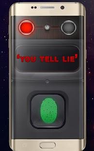 otisk prstu odemknout lhát detektor žert - náhled
