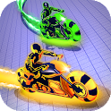 Moto Light Trail Stunt:Racing Battle icon