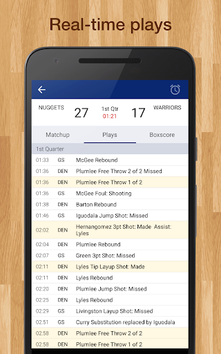 Basketball NBA 2018 Schedule & Scores: PRO Edition  screenshots 10