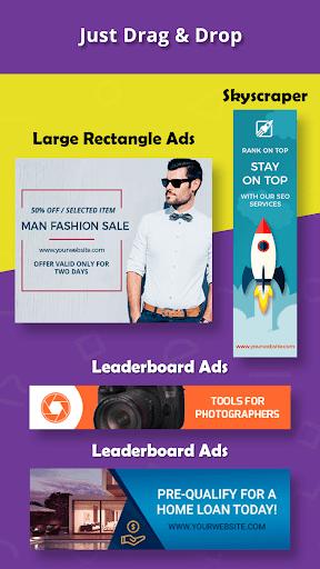 Banner Maker, Ad Maker, Web Banners, Graphic Art 6.0 screenshots 2
