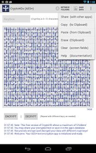 CryptxHDx - AES Encryption- screenshot thumbnail