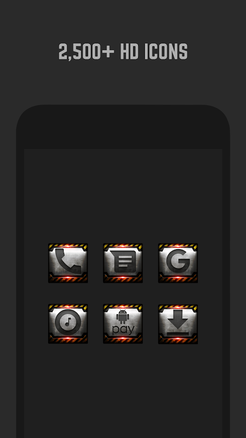 Industrial Icon Pack- screenshot