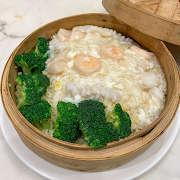 L1. Seafood Risotto in Bamboo Steamer