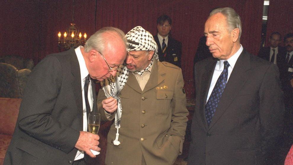 """Résultat de recherche d'images pour """"Arafat + Shimon Péres + Clinton"""""""