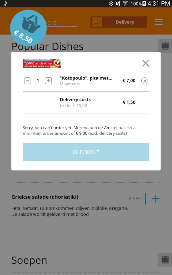 Online Food Ordering Apps Uk